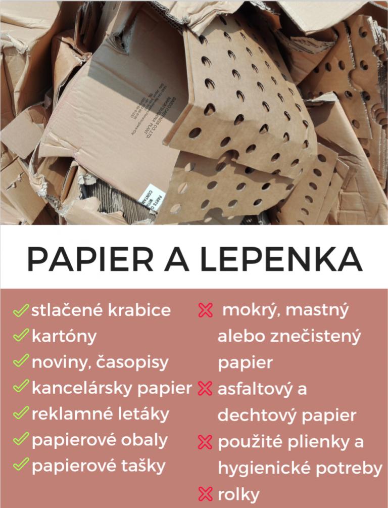 Papier a lepenka