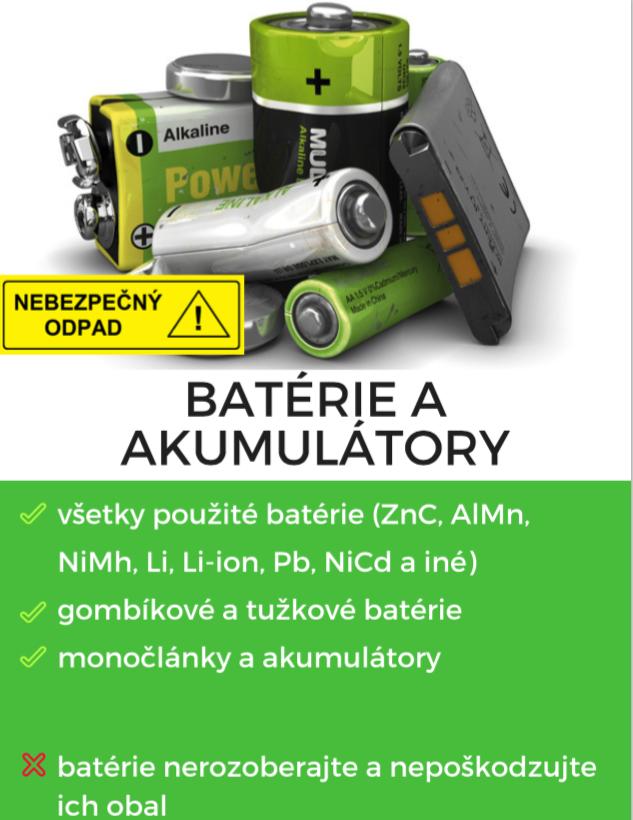 Batérie a akumulátory