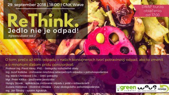 ReThink - Jedlo nie je odpad